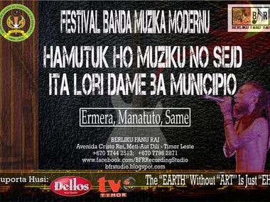 Concert in Timor Leste