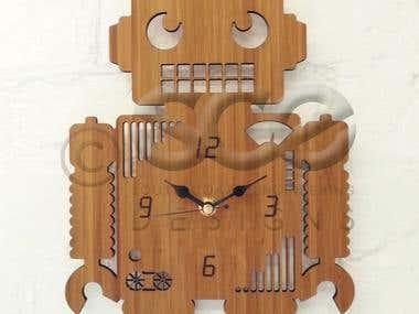Clock design @SCE/Owl & Otter