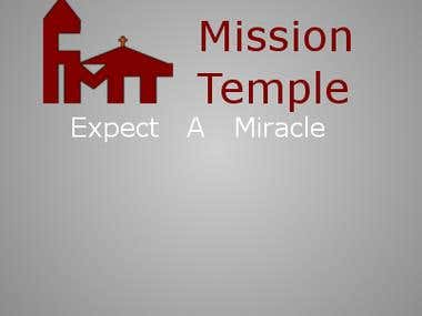Logo done for Faith Mission Temple