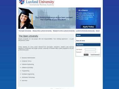 Luxford Academy Portal