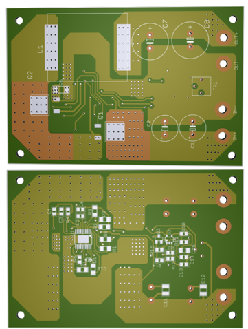 100V Input 2-40V Output SMPS