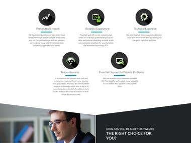 Corporate Homepage Design