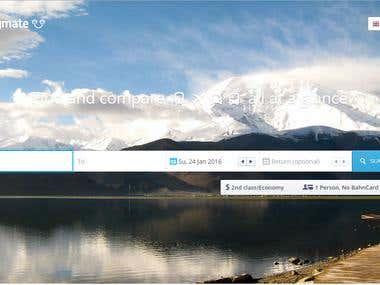 Online Flight Booking website