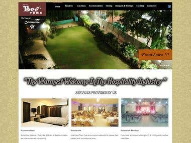 Beetown Hotel Website