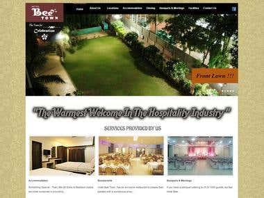 Beetown Hotel Website