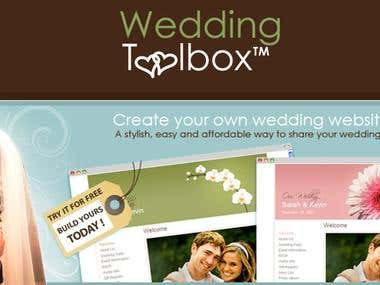 WeddingToolBox.COM Wedding Website Builder