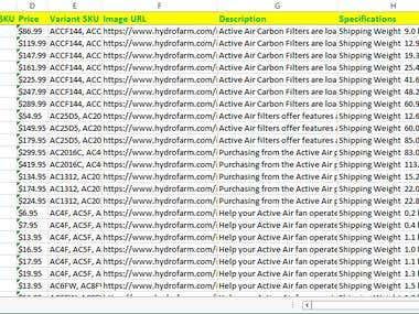 Scrape A Drupal e-Commerce Site