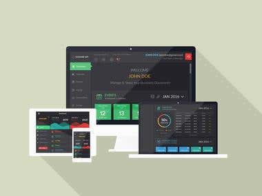 Web App Full Package UI design