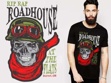 Biker Shirt Rip Rap