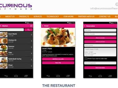 """The Restaurant App for Android"""