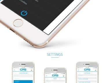 CPS APP - UI/UX Design