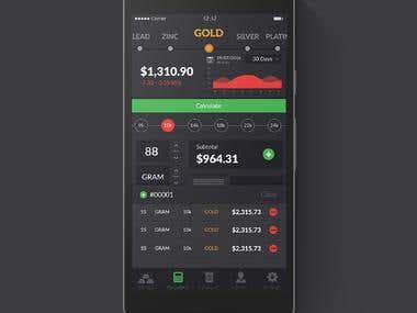 Metal Calculator app