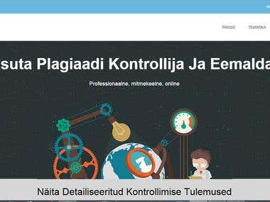 Website Content Translation (Estonian Language)
