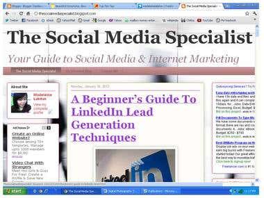 The Social Media Specialist
