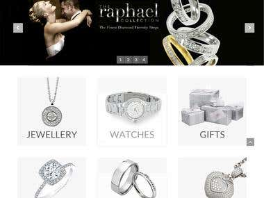 Website Design & Development for Nettletons Jewellers