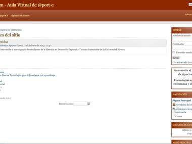 iClassRoom - Aula Virtual