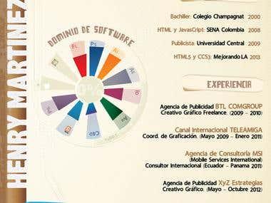My Infograph CV