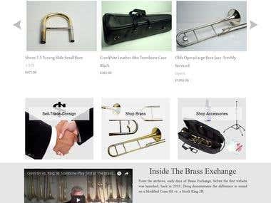 DRUPAL- Music Instrument Online store
