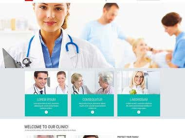 PHP Based Website For Dr. Clinic