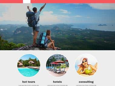 WordPress Based Website For Tour Planner