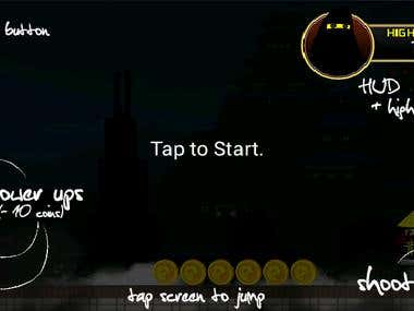 NinjaRunner - Android Application