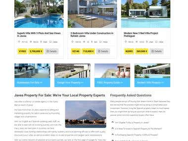 Realstate property website