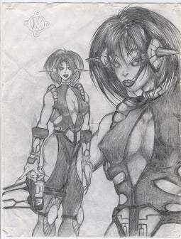 Kayme Drawing