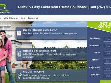 Real Estate Solutions Website