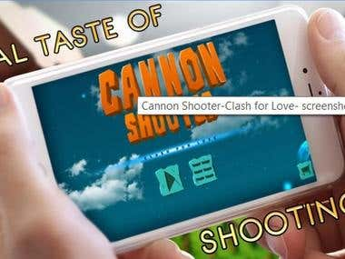 Canon Shooter-Clash for love