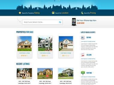 Real-estate Website
