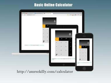 Online Calculator