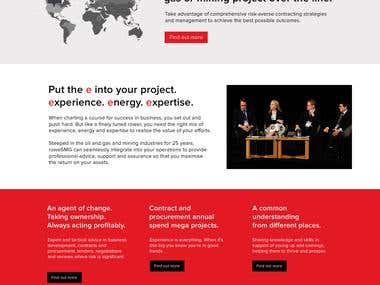 A business site