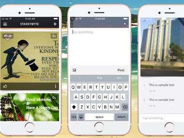 OfficeWall iPhone App