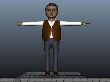 3d model/Character modelling