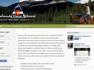Colorado Horse Network