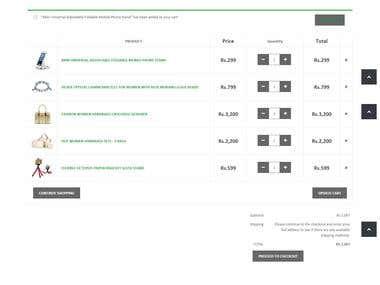 webshoppk e-commerce website