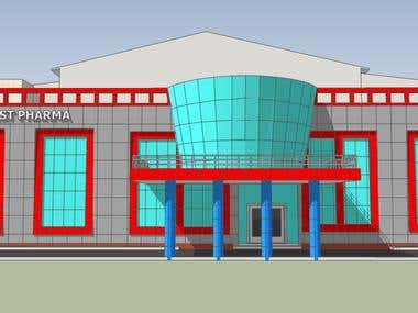 BUILDINGS FOR PHARMACEUTICAL COMPANY