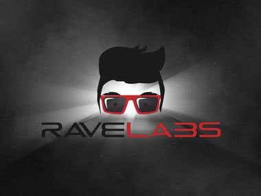 Brand identity  for Rave Labs