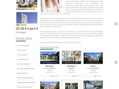 Abner Realty Inc. Website