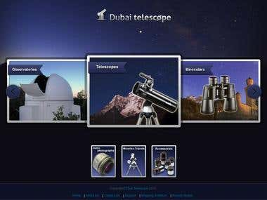 Dubai Telescope and Optics e-Shop