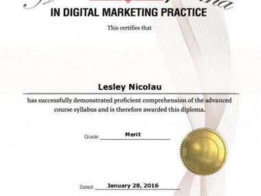 Advanced Diploma in Digital-Marketing