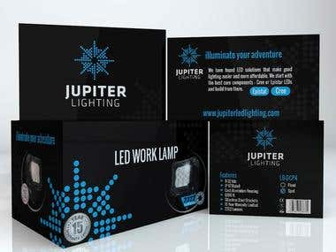 LED Box Design, Jupter Lighting, USA !
