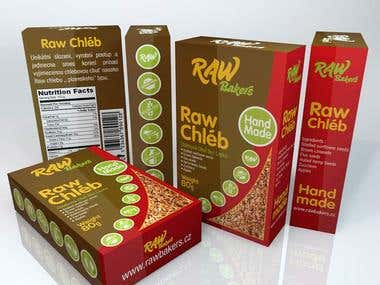 Raw Bread Box Design, Raw Bakers, Czrech !