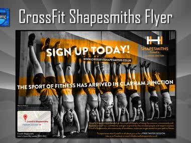 CrossFit Shapesmiths Flyer