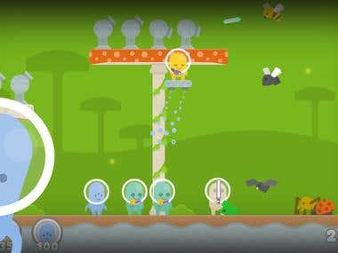 Aliens vs Bugs - iOS / Android Game