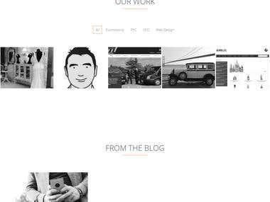 Websetuk Wordpress Single Page website