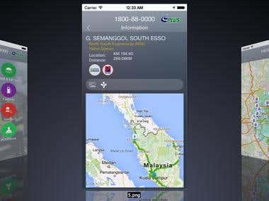 Travel App(PLUS Expressways)