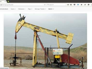 App to handle oil rigs maintenance