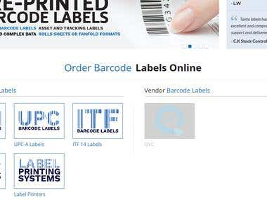 Magento for barcodes