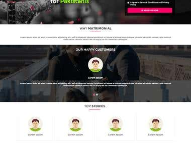 PSD to HTML, Mobile responsive, Built in Wordpress